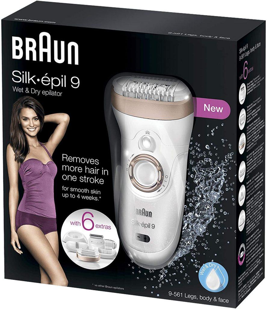 Mejores depiladoras Braun Silk Epil 9 6