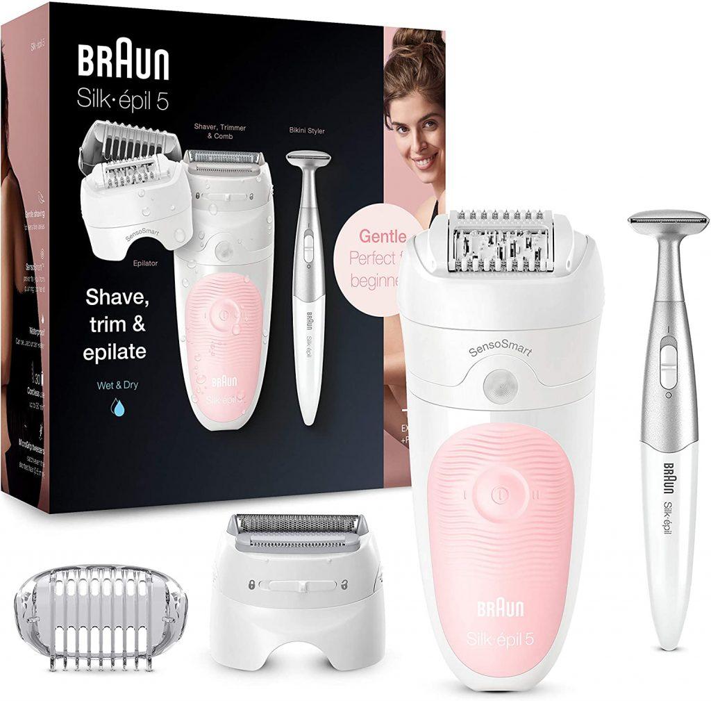 Mejores depiladoras Braun Silk Epil 5 4